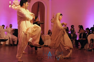 Angela and Saad's Wedding Dance