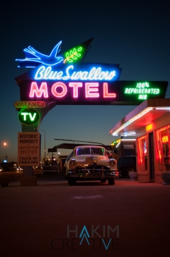 Blue Swallow Off Route 66