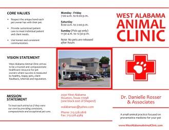 WAAC Trifold Brochure